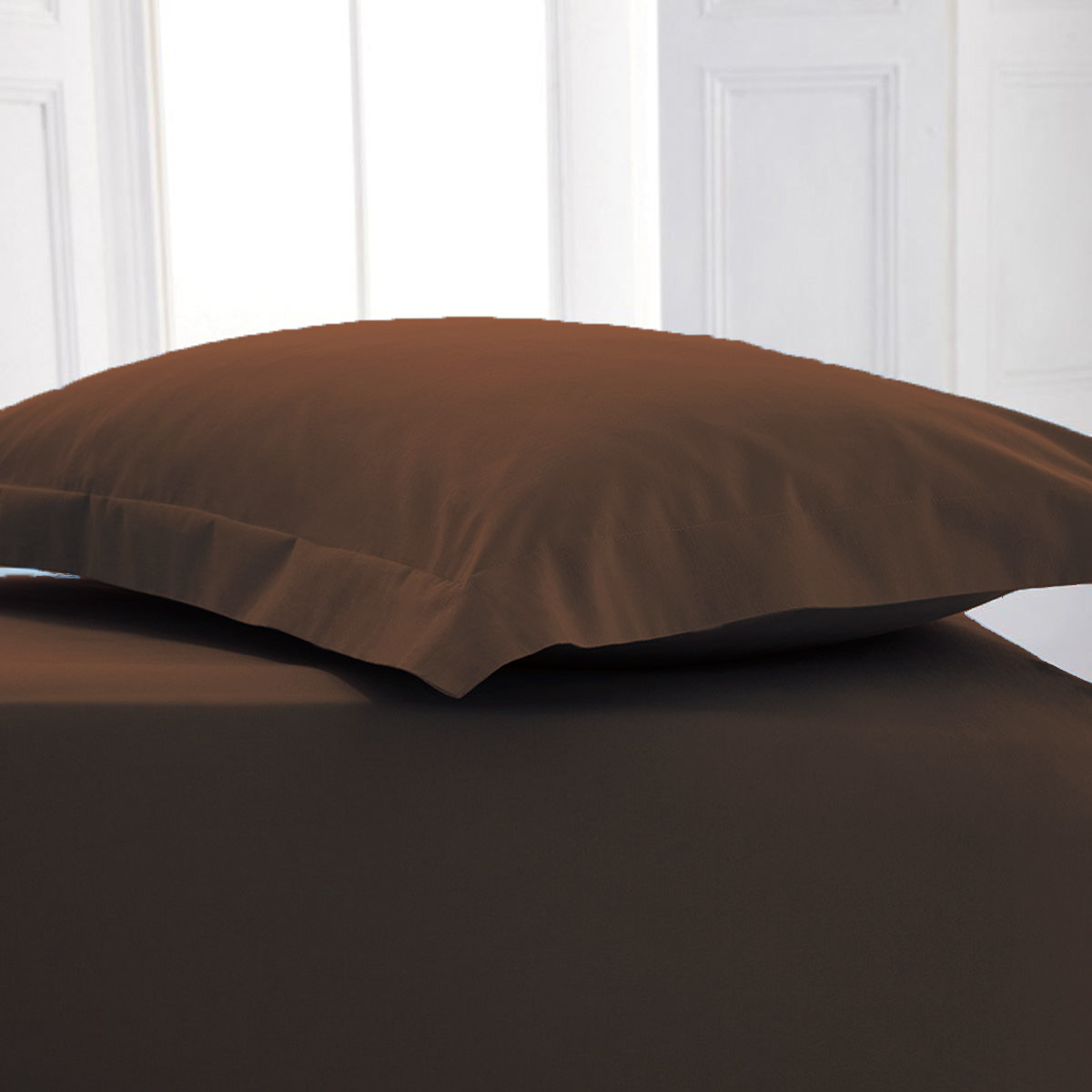 4 Foot Small Double Poly Cotton Fitted Bed