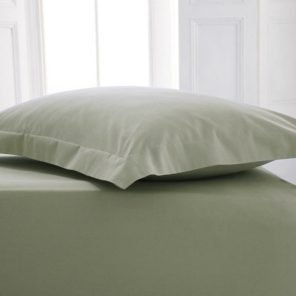 Extra Deep 16 Inch Percale Fitted Bed Sheet Bed Linen; Picture 2 Of 2