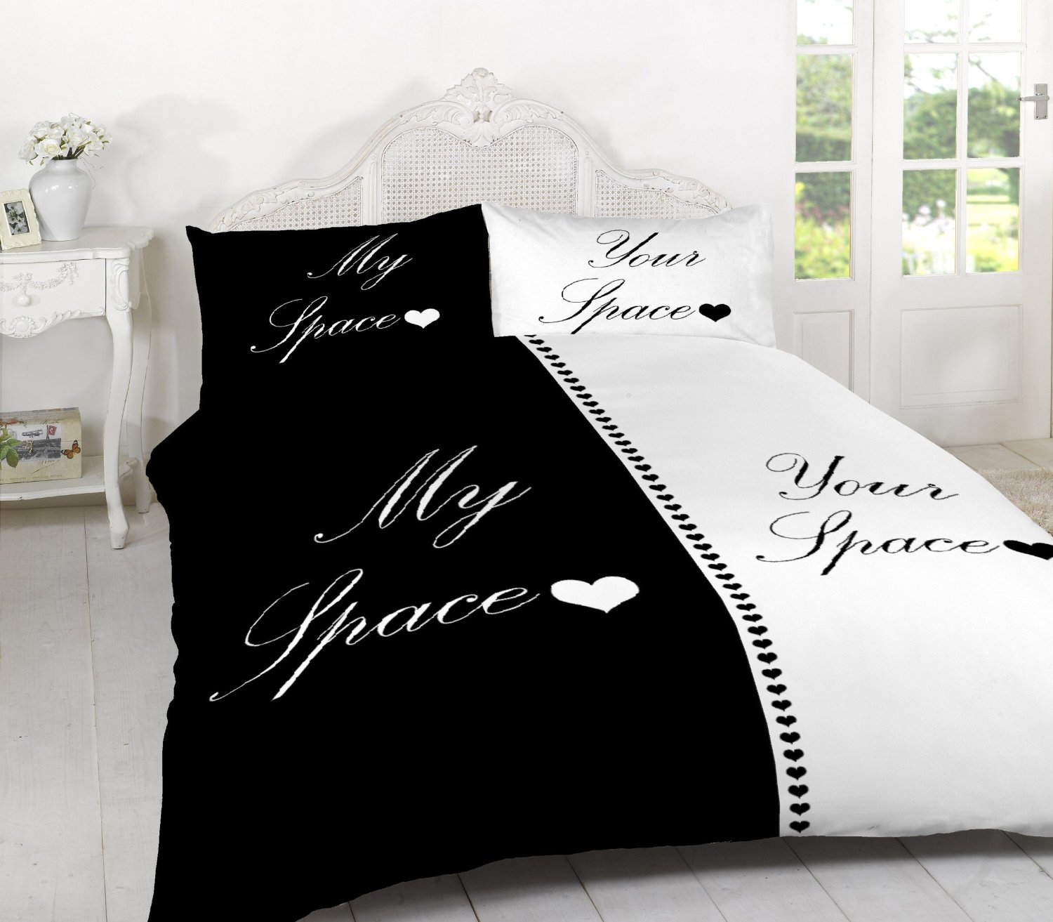 Merveilleux My Space For Him Her Duvet Quilt Cover