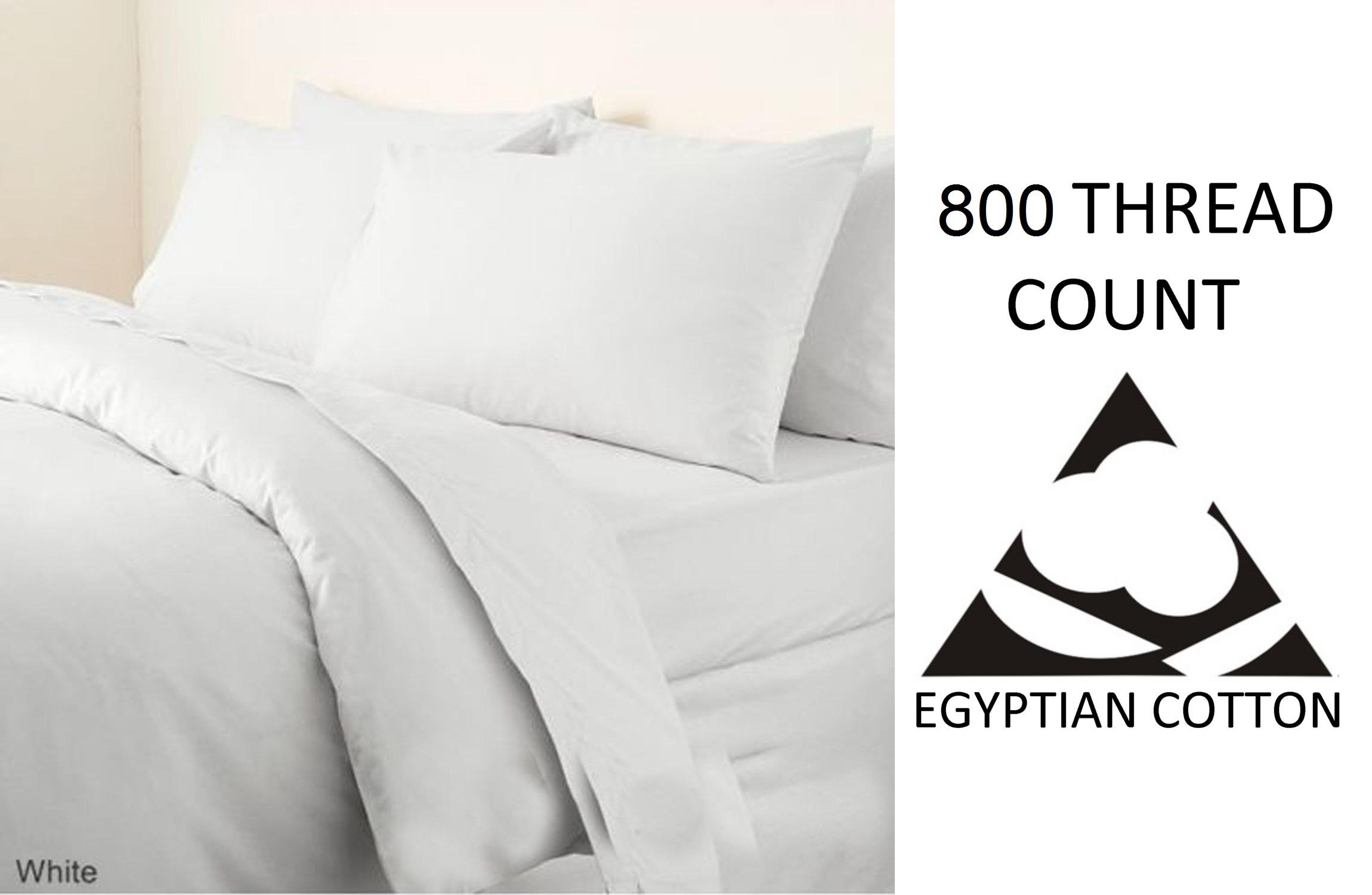 Algodón Egipcio cama 800 Hilos Hoja de ropa de cama Egipcio de cama plana 149d0b