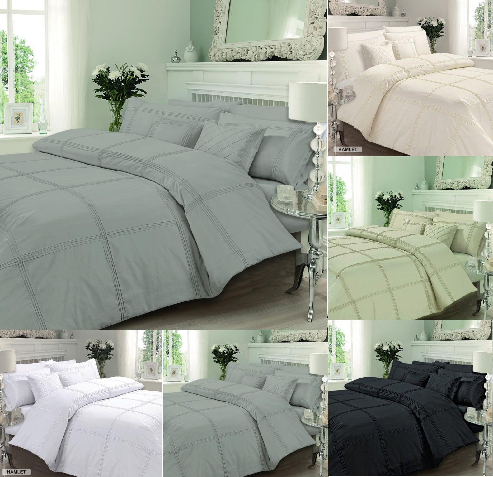hamlet signature luxury duvet cover bedding set single. Black Bedroom Furniture Sets. Home Design Ideas