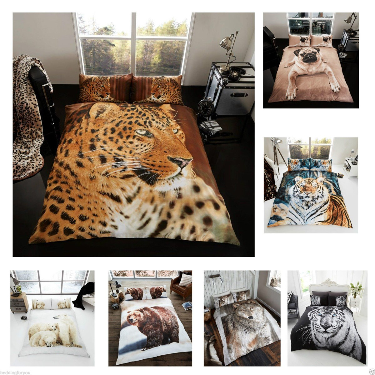 Extra large 3d animal fur blanket sofa throw king size 200 for Sofa 300 x 200