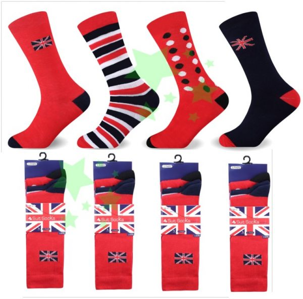 Linenstar Union-Jack socks