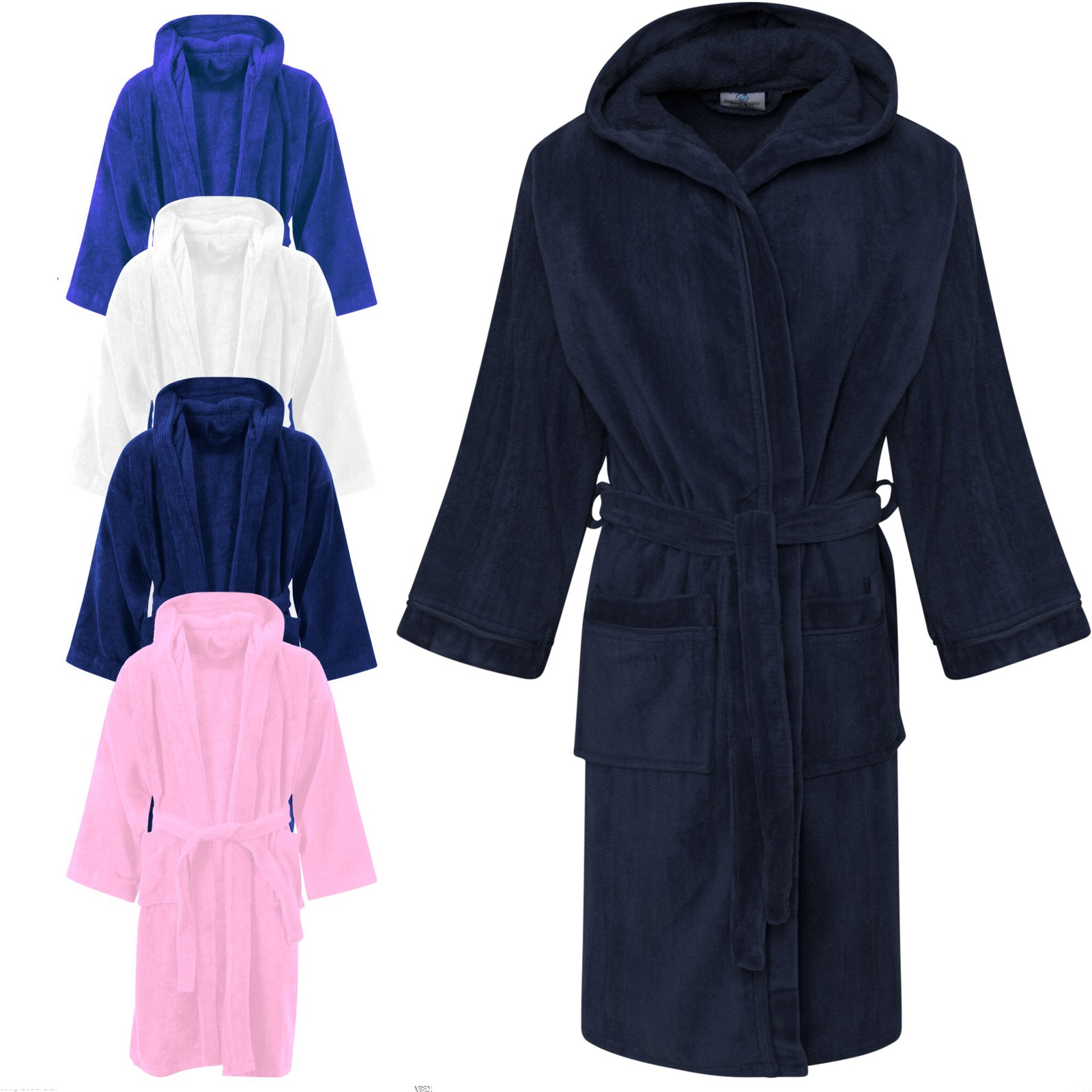 linenstar kids-bathrobe-multi