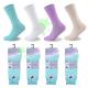 linenstar socks ladies-lycra-light-pastel