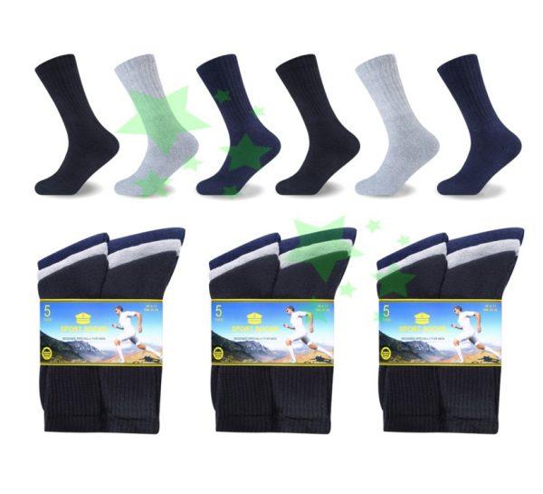 Linenstar men-performance-sport-socks-mix