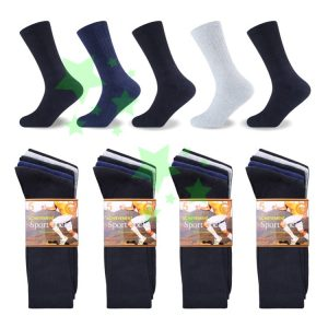 Linenstar men-sports-achievement-socks-mix