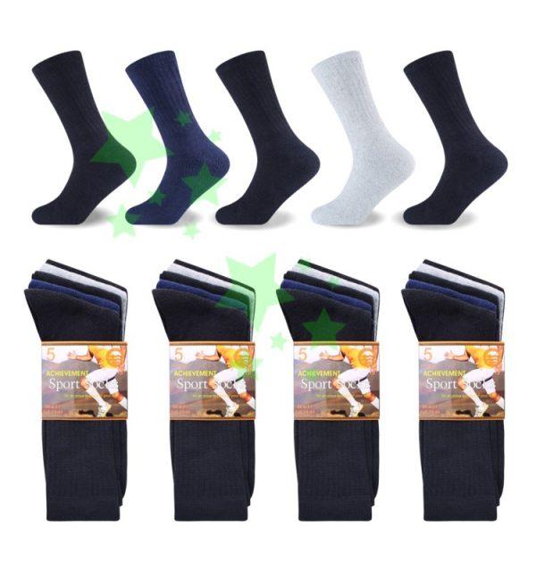 Linenstar men-sports-achievement-socks-mix