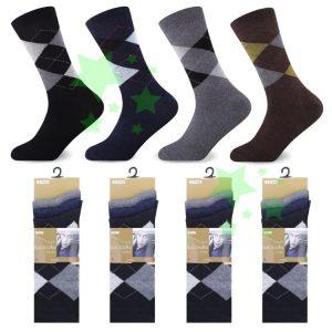 Linenstar men-suit-socks-argyle