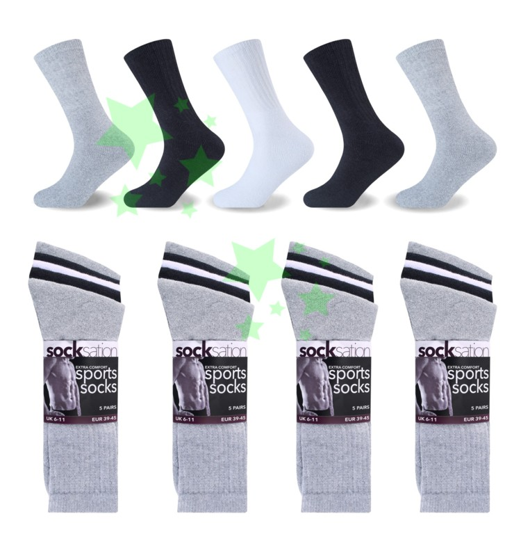 Linenstar men-xtra-comfort-sports-socks-mix