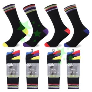 Linenstar mens-suit-sockscolour-heal-and-toe