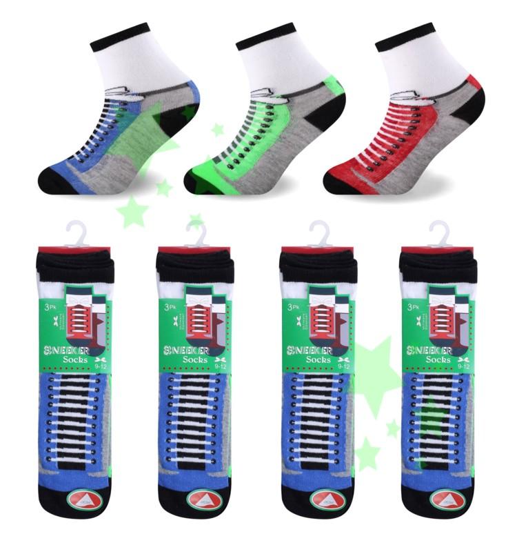 linenstar boys-sneeker-socks