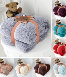 linenstar Teddy-Throw-multi