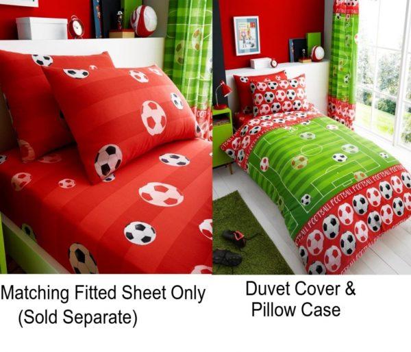 Linenstar Goal-Red-Duvet