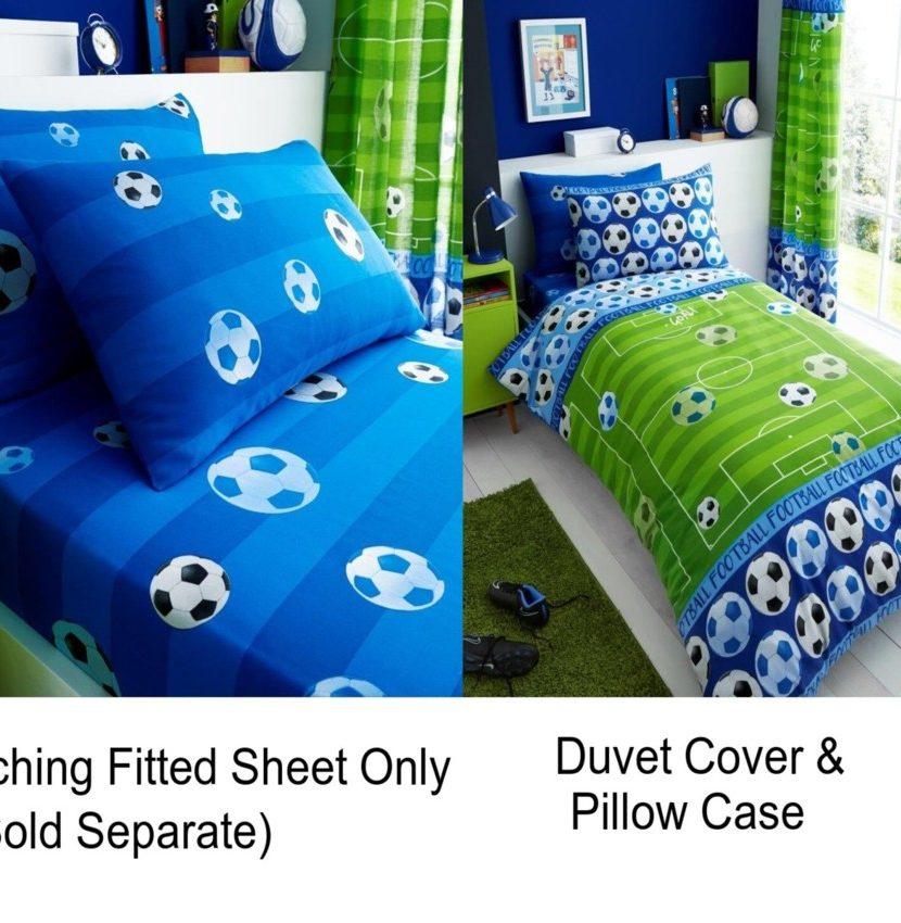 linenstar Goal-blue-Duvet