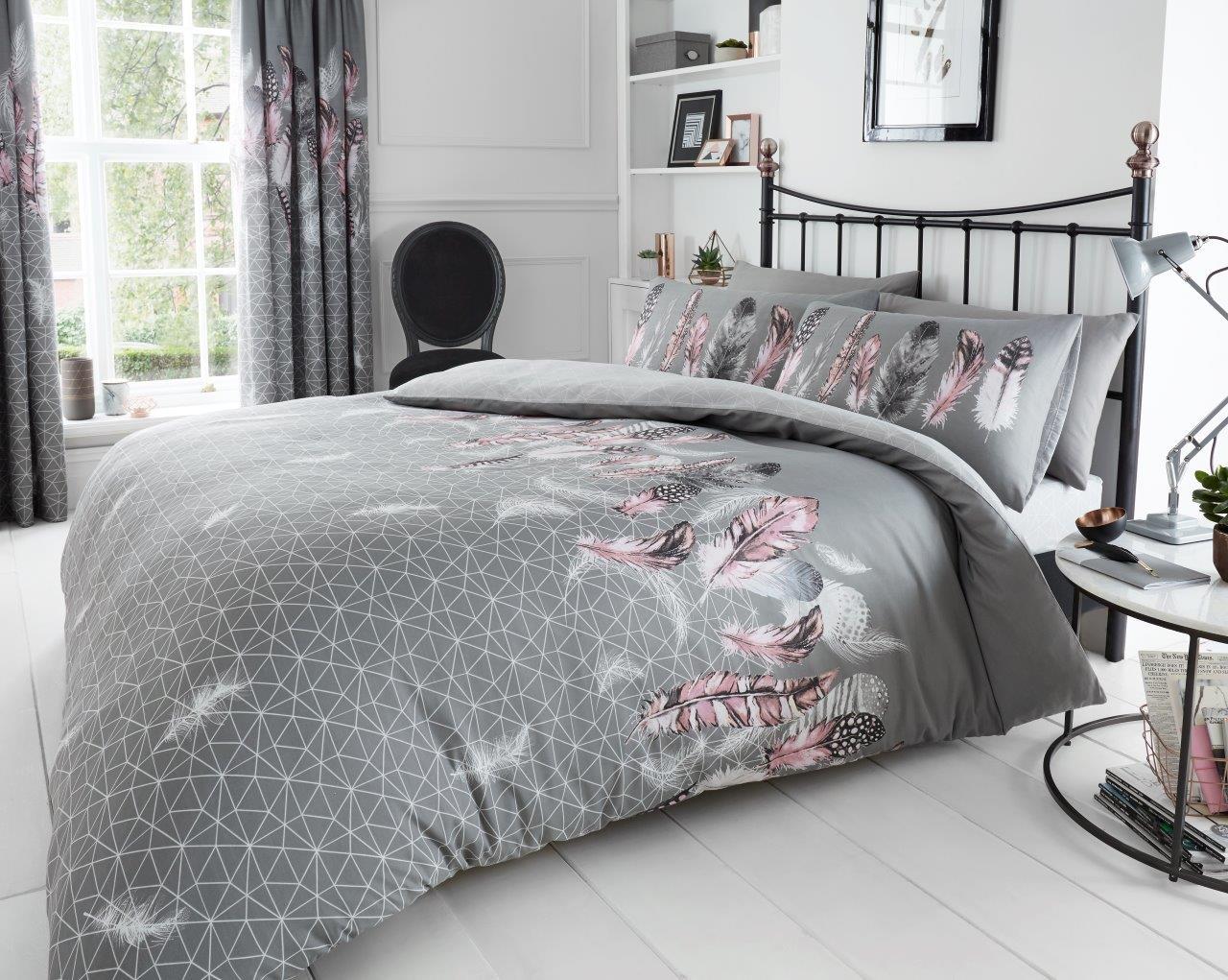 Luxury Kew Duvet Set 3 PCs Floral Duvet//Quilt Cover Set Pillow Cases Bed Set
